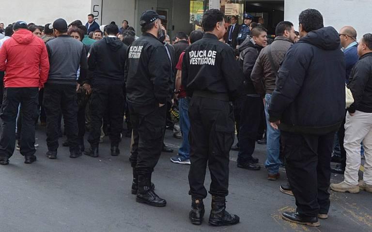 Van contra 300 policías de investigación en CDMX porcorrupción